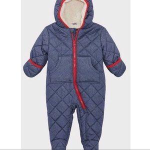 Navy Rothschild Baby Quilt Pram - 6-9 (NWT)